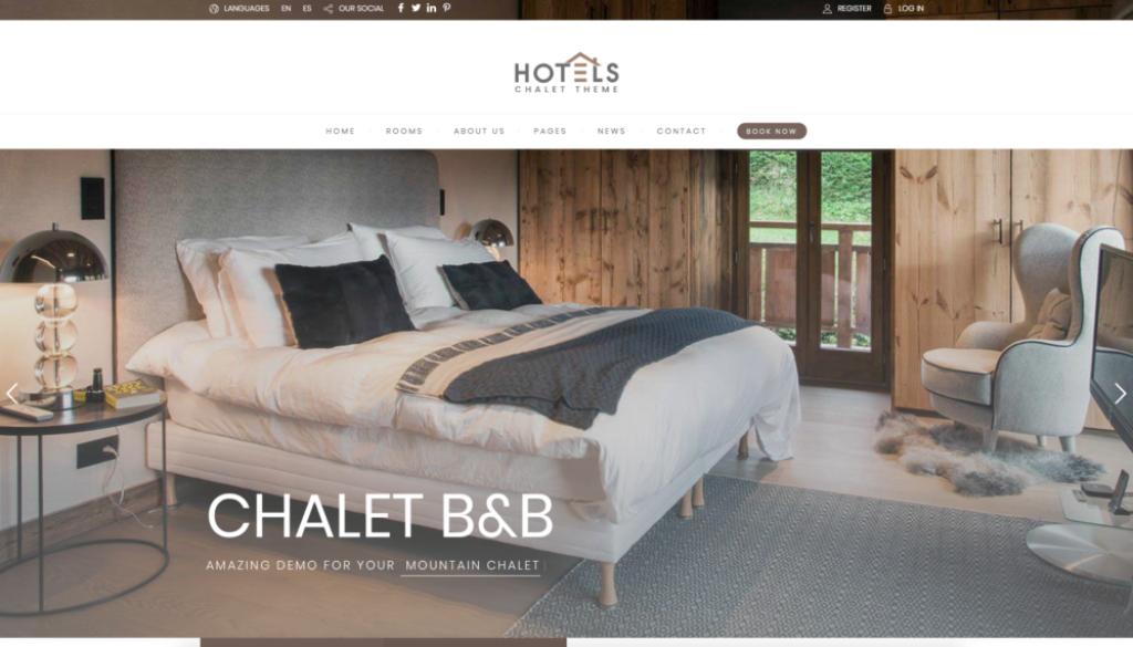 Izrabotka na sajt za hotel, vila, kyshta za gosti ot Studio SVR