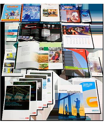 Видове печатни продукти: дипляна, брошура, листовка, флайер, плакат, афиш.