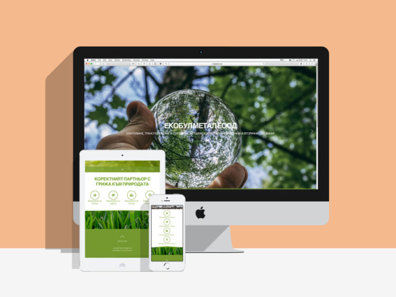 Изработка на уеб сайт