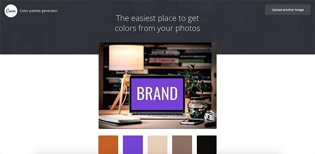 Как да изберете цветовете на марката и да ги използвате на вашия уебсайт 3