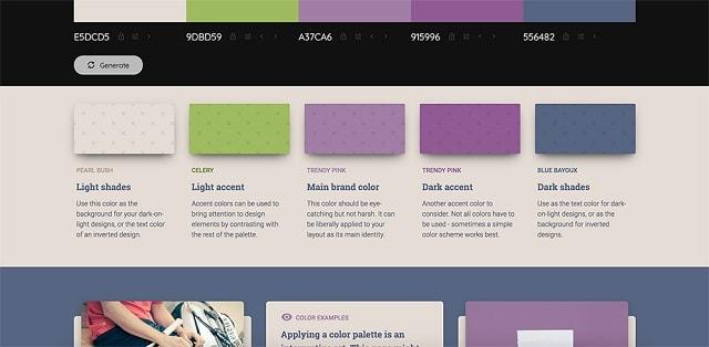 Как да изберете цветовете на марката и да ги използвате на вашия уебсайт 1