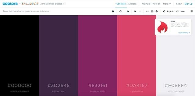 Как да изберете цветовете на марката и да ги използвате на вашия уебсайт 2
