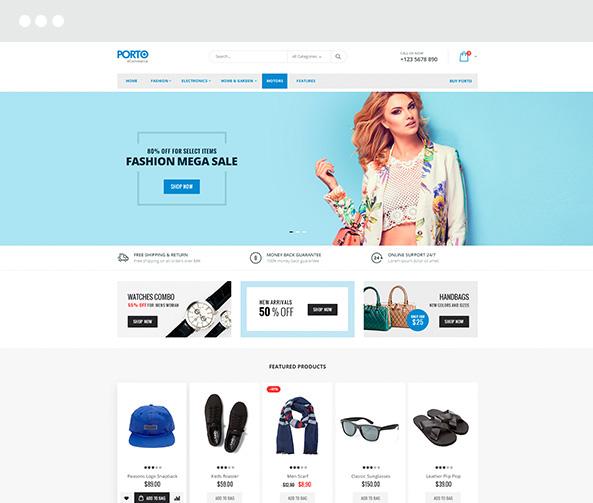 Изработка на онлайн магазин 2
